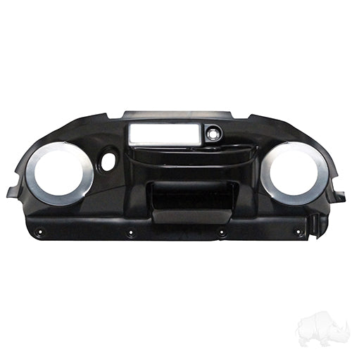 Paintable ABS Plastic Deluxe Dash w/ Radio/Speaker Cutout | Cart Parts Direct