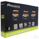 Deluxe Tan Four Sided Enclosure Packaging 2 | Cart Parts Direct