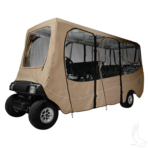 Deluxe Sand 6 Passenger Enclosure for Carts w/ up to 126