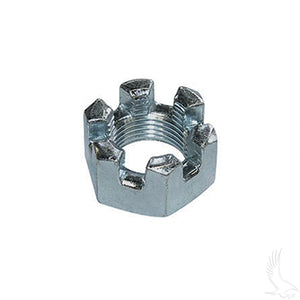 "3/4""-16 Slotted Front Axle Flange Nut 