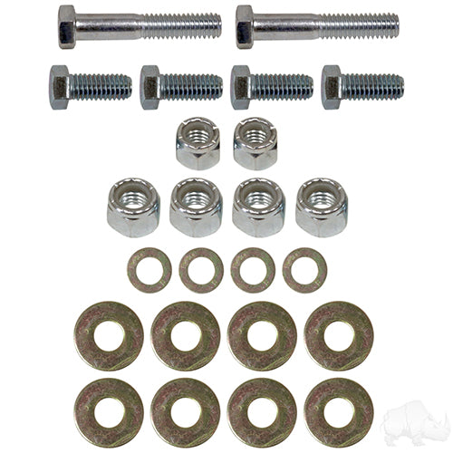 Seat Belt Bracket Hardware Kit | Cart Parts Direct