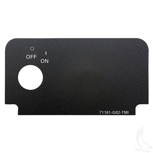 Key Switch Decal w/ On | Cart Parts Direct