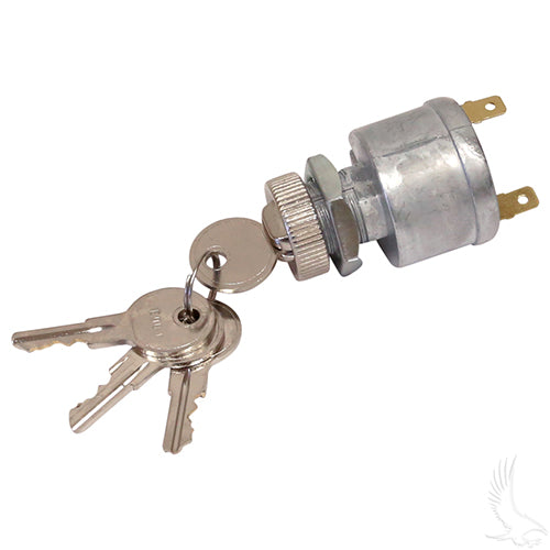 2 Terminal Key Switch w/ Mixed Key Codes | Cart Parts Direct