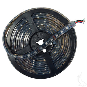 16' 12V Green Flexible LED Light Rolls w/ Wire Leads | Cart Parts Direct