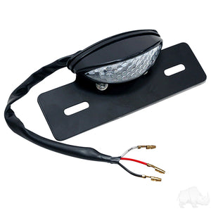 License Plate Holder w/ LED Tag Running & Brake Lights | Cart Parts Direct