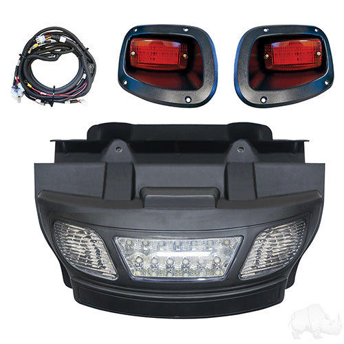Complete LED Light Bar Bumper Kit | Cart Parts Direct