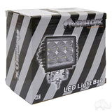 "4 1/2"" 12V-24V 18W 1350 Lumen LED Utility Spotlight Packaging 