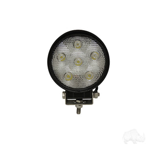 "4 1/2"" 12V-24V 18W 1350 Lumen LED Utility Flood Light 