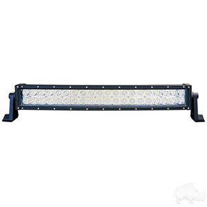 "21 1/2"" 12V-24V 120W 7800 Lumen Curved Combination Flood Light/Spotlight LED Light Bar 