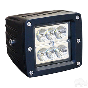 "3 1/4"" 12V-24V 24W 1500 Lumen LED Utility Spotlight 