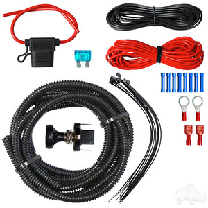 LED Utility Light Wiring Kit w/ Push/Pull Switch | Cart Parts Direct