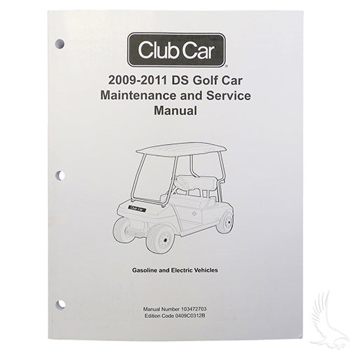Maintenance & Service Manual | Cart Parts Direct