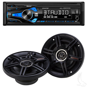 "Dual Receiver w/ 5 1/4"" Dual Speakers 