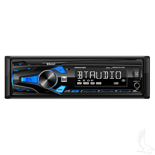 Dual In-Dash AM/FM Bluetooth Digital Media Receiver | RAD-062