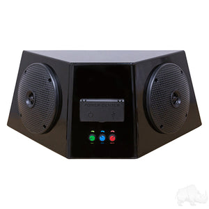 Audio Center Enclosure w/ Bluetooth Amplifier, Power Center, & Speakers | Cart Parts Direct