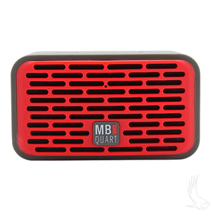 QUB Red Dual Driver Wireless Bluetooth Speakers (SET of 2) | Cart Parts Direct