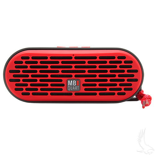 QUB Red Dual Driver Wireless Bluetooth Speakers (SET of 3) | Cart Parts Direct