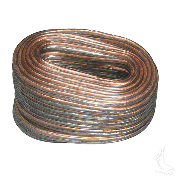25' 18 Gauge Speaker Wire | Cart Parts Direct