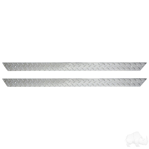 Diamond Plate Rocker Panel Insert Set | Cart Parts Direct