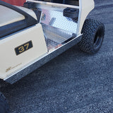 Stainless Steel Rocker Panels Installed | Cart Parts Direct
