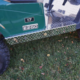Diamond Plate Rocker Panels Installed | Cart Parts Direct