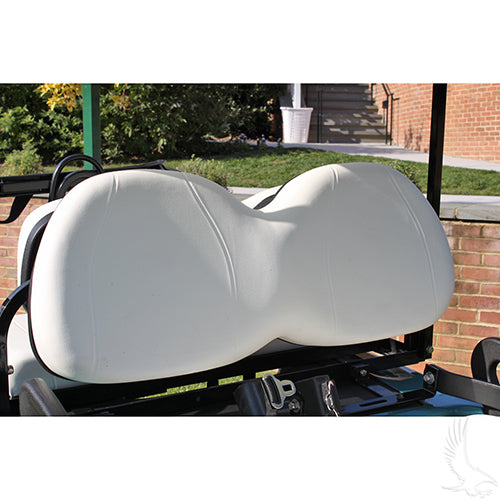White Seat Back Assembly | Cart Parts Direct