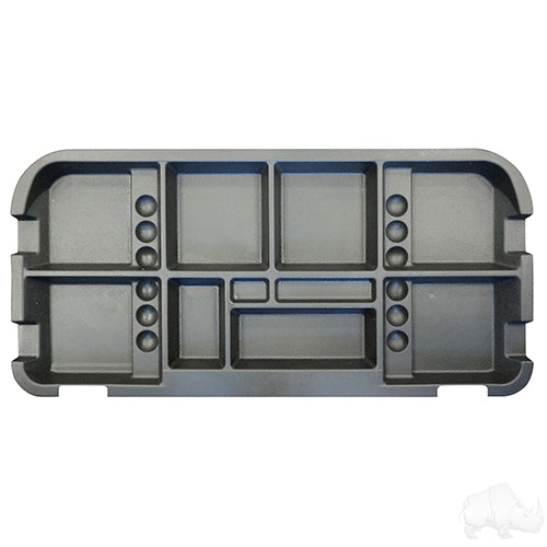 Black Under Seat Storage Tray | Cart Parts Direct