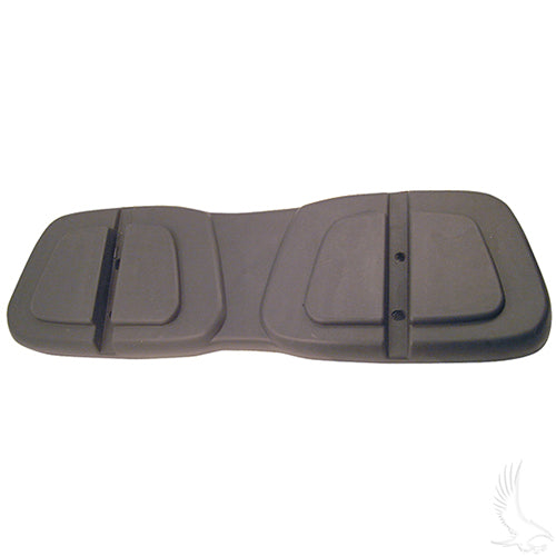 1 Piece Black Plastic Seat Back Shell | Cart Parts Direct