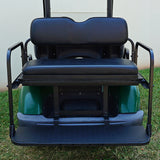 Black RHOX 300 Series Rhino Rear Seat Kit | Cart Parts Direct