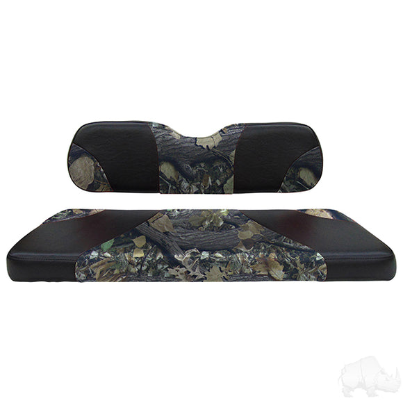 Sport Black/Camouflage RHOX 400 Series Rhino Rear Seat Kit | Cart Parts Direct