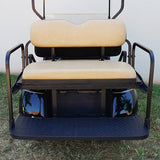 Tan RHOX 400 Series Rhino Rear Seat Kit | Cart Parts Direct