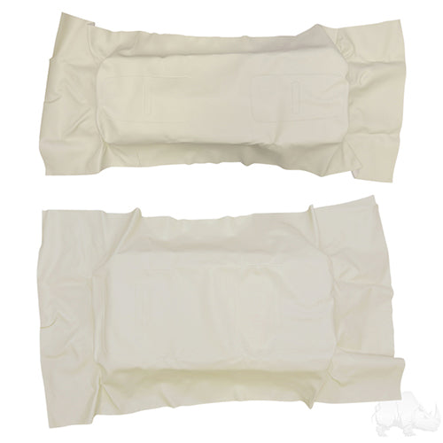 Ivory Flip Seat Cover Set | Cart Parts Direct