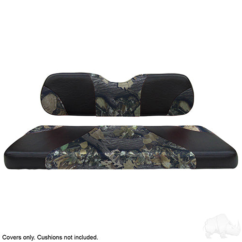 Sport Black/Camouflage Super Saver Seat Cover Set | Cart Parts Direct