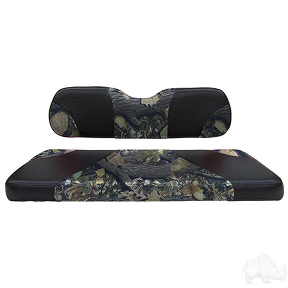 Sport Black/Camouflage Super Saver Seat Kit Cushion Set | Cart Parts Direct