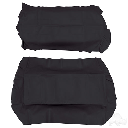 Black Super Saver Flip Seat Cover Set | Cart Parts Direct