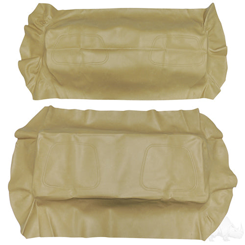 Tan Super Saver Flip Seat Cover Set | Cart Parts Direct