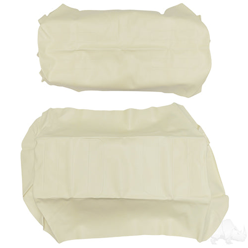 Ivory Super Saver Flip Seat Cover Set | Cart Parts Direct