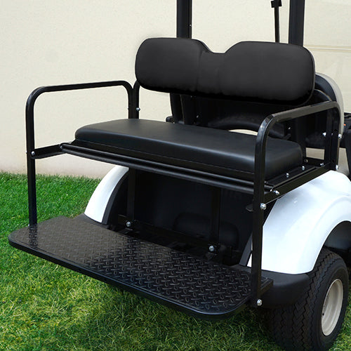 Black Rear Super Saver Seat Kit | Cart Parts Direct