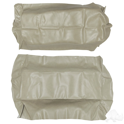 Stone Beige Super Saver Flip Seat Cover Set | Cart Parts Direct
