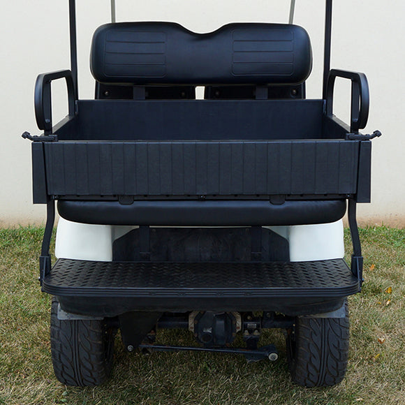 Black RHOX 900 Series Rhino Rear Seat Kit | Cart Parts Direct