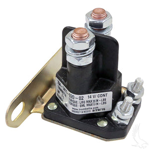 4 Terminal 14V Silver Solenoid | Cart Parts Direct