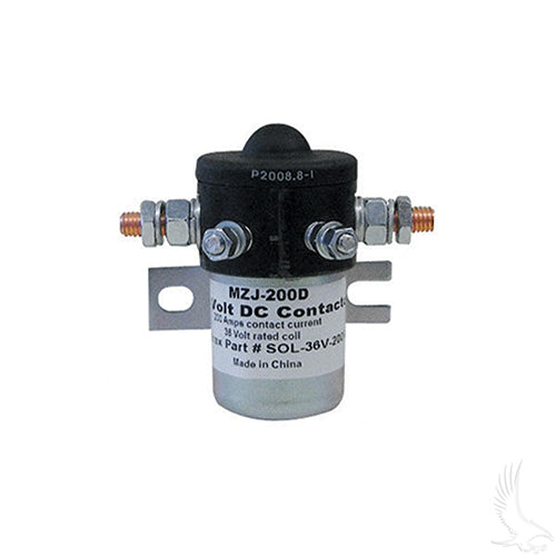 36V/200A Solenoid | Cart Parts Direct