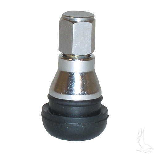 Valve Stem w/ Chrome Sleeve & Dome Cap | Cart Parts Direct