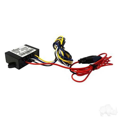 Low Draw 24V-48V to 12V/4A Voltage Reducer | Cart Parts Direct