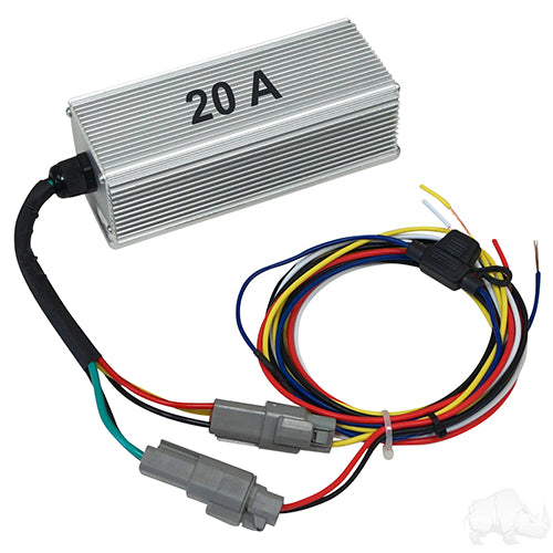 36V-48V to 12V/20A Isolated Voltage Reducer | Cart Parts Direct