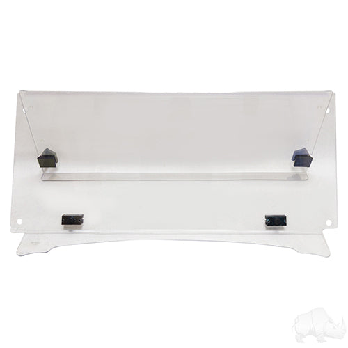 Impact Modified 2 Piece Clear Windshield | Cart Parts Direct