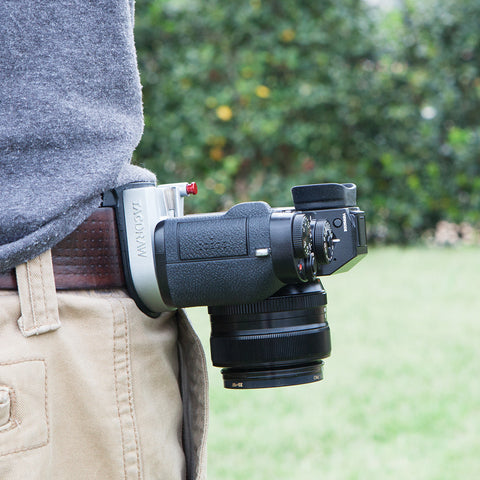 Picture of TacDraw Camera Belt Metal Holster