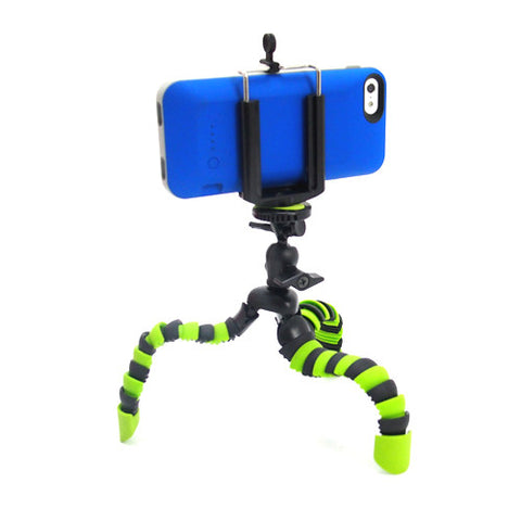 Picture of Flexible Small Camera Tripod with Smart Phone Holder