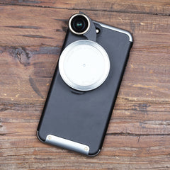Revolver Lens Camera Kit for iPhone 7 Plus - Silver Edition