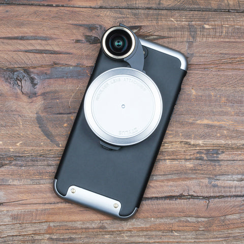 Picture of Revolver Lens Camera Kit for iPhone 7 - Silver Edition